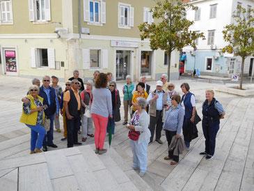 Stadtführung in Porec mit den LandFrauen und Gästen