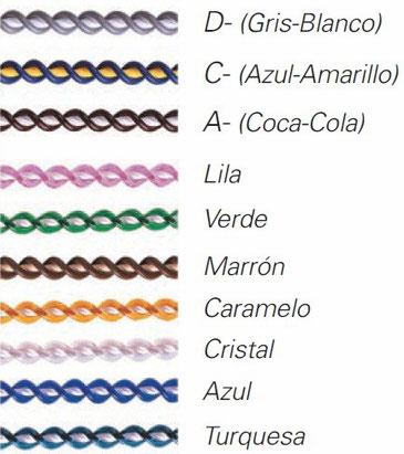 Colores de cortinas de plástico antimoscas modelo Ibiza