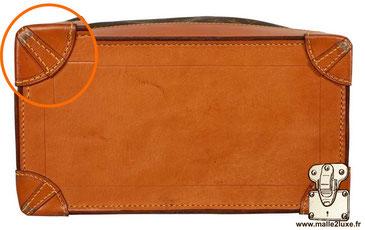 Steamer bag expertise. secret Louis Vuitton coin en cuir