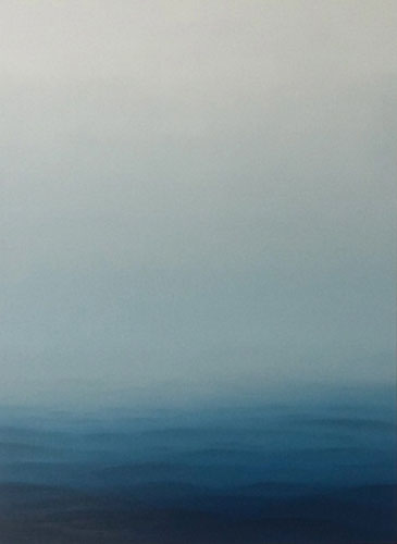 No incoming swell at all 4, 135 x 100 cm, Öl auf Leinwand, 2016