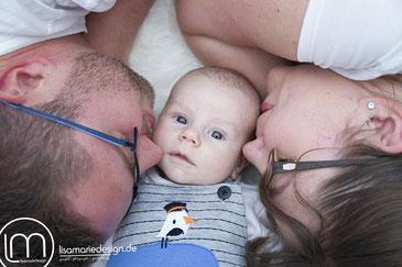Neugeborenenshooting, Babyfotografie in Leipzig