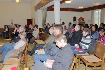 Gemeindeversammlung Januar 2013
