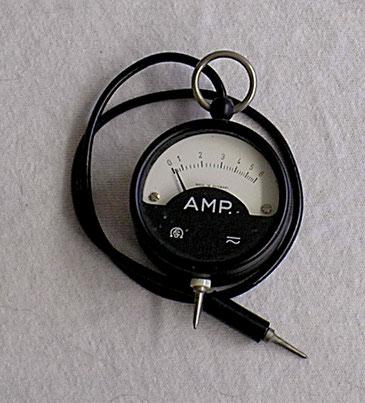 Schöller & Co. Frankfurt  a / M.  - Taschen Ampere Meter von 1950