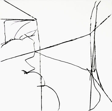 Heiner Blumenthal l etching l edition l 2006 Ka 74 l 63 x 63 cm