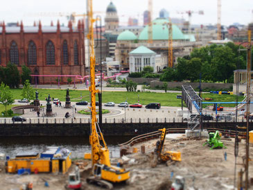 Baustelle Stadtschloss Berlin - Vorgegebener Kostenrahmen;)