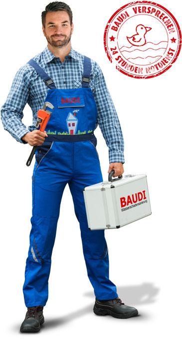BAUDINotdienst Sanitär Stuttgart, Schorndorf, Schwäbisch Gmünd bis Aalen