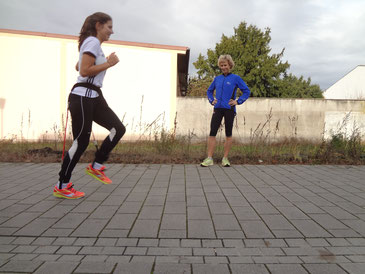 Laufstilanalyse als Einzelcoaching