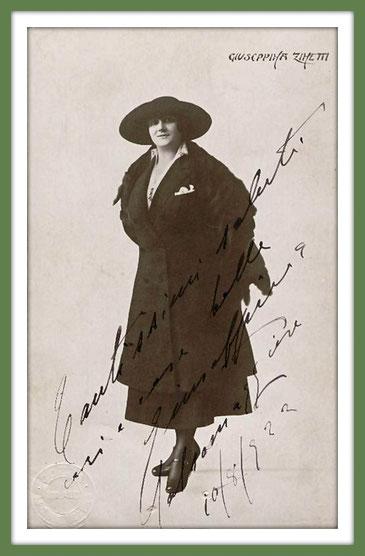 Guseppina Zinetti - mezzosoprano