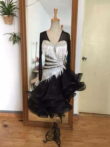 セミオーダー 社交ダンス ラテンドレス