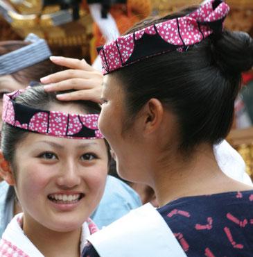 〈YAEGAKI Shrine Festival〉Sosa, Chiba ⓒreal Japan 'on!