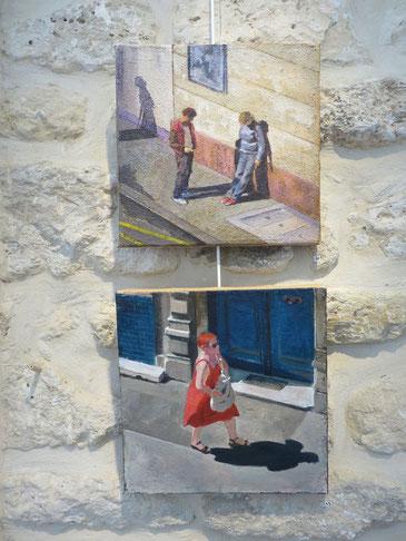 Peintures - crylique sur toile - 30x30