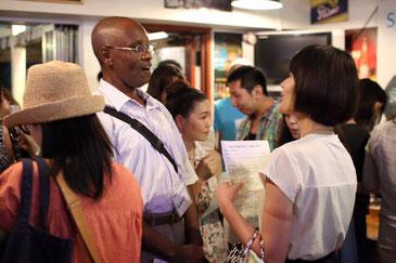 藤沢市辻堂の英会話教室、ディディEnglish Schoolのカフェ貸し切りイベント