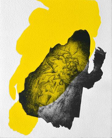#Venus II • 2021 • engraving print on paper • 26,5 x 19,5 cm