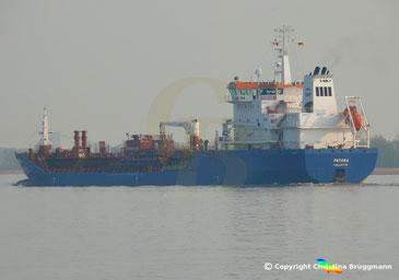 Öl/Chemie Tanker PATARA