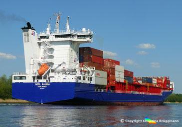 Containerschiff OOCL RAUMA