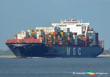 Containerschiff MSC PALAK