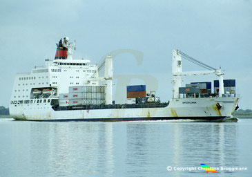 Containerschiff AMERICANA