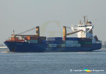 Containerschiff CONCORDIA