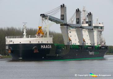 Bulk carrier HAAGA