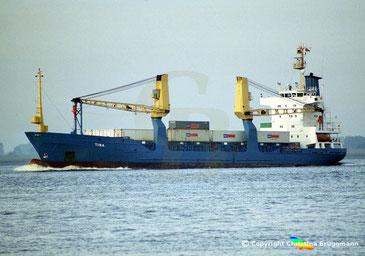 Containerschiff TINA