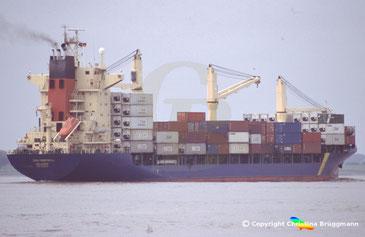Containerschiff CSAV MONTREAL