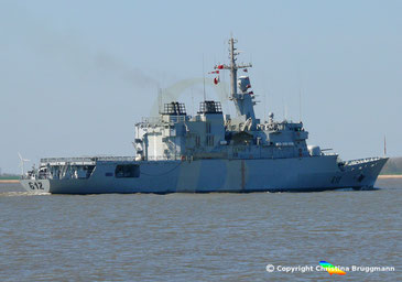 Fregatte RMNS HANSSAN II