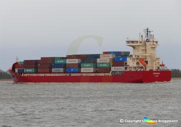 Containerschiff FREDERIK