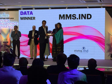 MMS.IND awarded best Data Company India 2019, Market Research India, Consumer Data India, Micro market Segmentation India