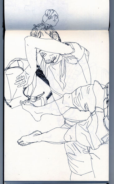carnet de croquis 2009-Maud-Millecamps
