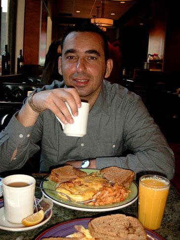 New York Reisebericht - Frühstück im Diner