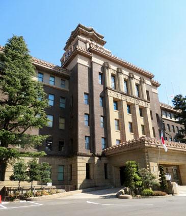 31年間のうちの24年間を、ここ本庁舎で過ごした。