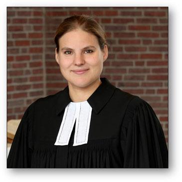Pfarrerin Christina Gelhaar