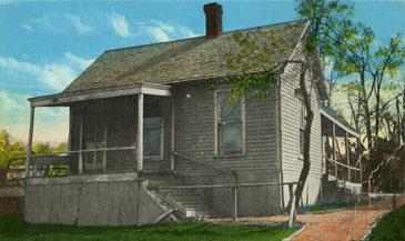 Erste Schule für Osteopathie in Kirksville, Missouri/Amerika (ca. 1890)