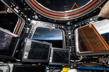 Cupola Modul der Internationalen Raumstation