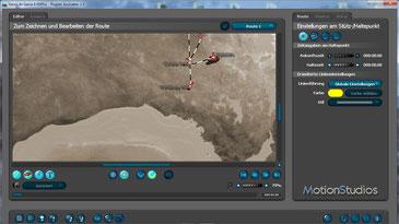 Vasco da Gama - Reiserouten Animation