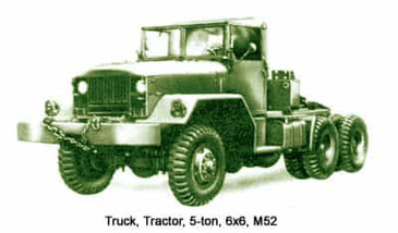 Federal M52 Tractor Truck