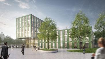 Siegerentwurf Sacker Architekten/Partner AG Freiburg