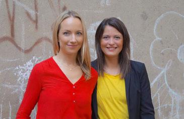 Anne Klesse und Anna Wilms, Gründerinnen von Die Berliner Kiste