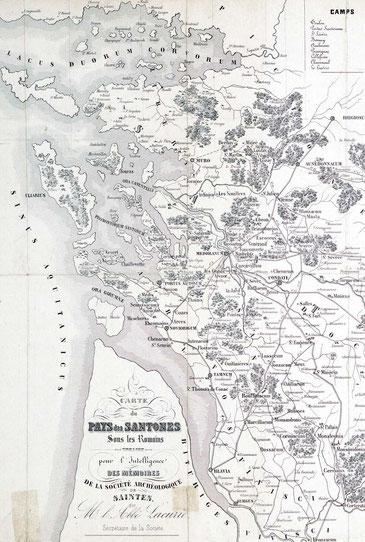 Pays Santons période Romaine