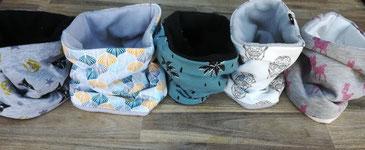 Snood tour de cou hiver pour bébé