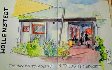 gemalt von unserem Mitglied Elke Schmidt - vielen Dank!