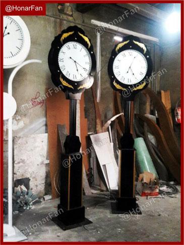 تولید انواع مدلهای ساعت شهری بزرگ و کوچک سازنده ساعت شهری ساعتهای بزرگ شهری خرید ساعت صنعتی ساعت دیواری