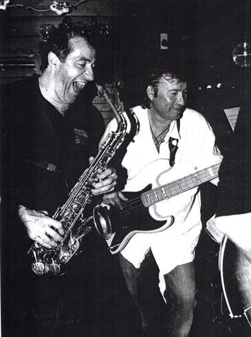 Hervé Meschinet et Christophe Le Van au Club de Jazz Les 5 Rues à Megève