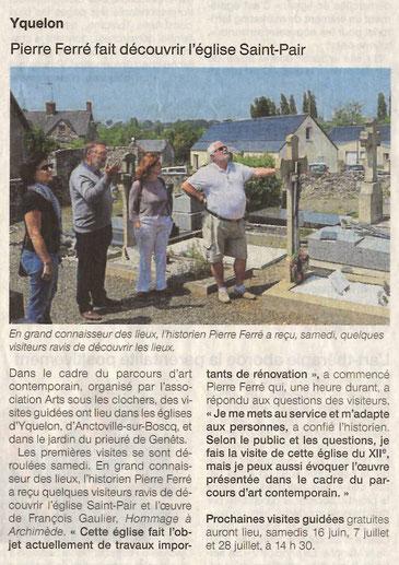Ouest-France - Yquelon - 29 mai 2018