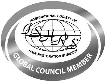 Die SSHRS ist MItglied des Global Council der Internationalen Vereinigung für Haartransplantation ISHRS