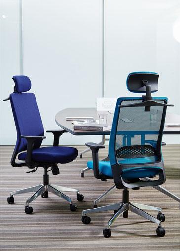 Comfordy, Drehstuhl, Netz, Slimpolster, swivel chair, mesh, slim upholstery, Ru´dy
