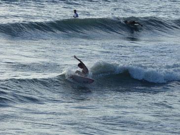 波も満ち込で良くなってきましたね。