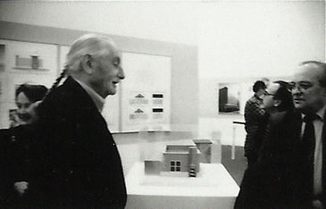 Ettore Sotsass Jr. with Gianni Pettena, 1991