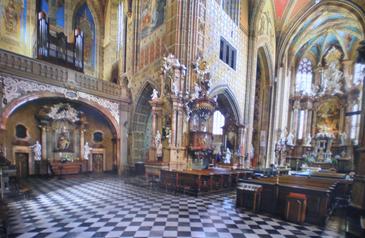 Kloster Kirche St.Elisabeth in Brünn