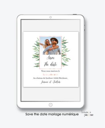 faire-part-mariage-nuSmérique-faire-part-mariage-digital-faire-part-numérique-pdf-numérique-faire-part-mariage-electronique-faire-part-à-envoyer-par-mms-par-mail-réseaux-sociaux-whatsapp-facebook-messenger-eucalyptus-bouquet-champêtre-bohème-végetal-photo